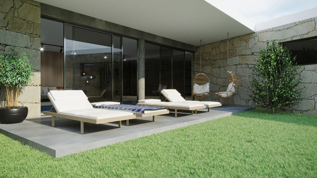 Le SPA des logements Lodges Minho – Porto – Portugal