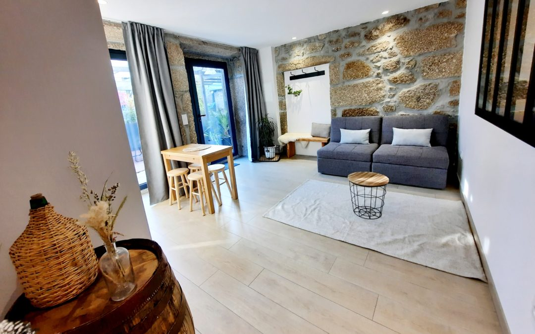 "Appartement T1 ""Adega"" – Logements Lodges Minho – Arcos de Valdevez – Ponte da Barca – Portugal"